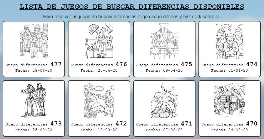 juegos diferencias